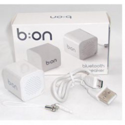 ALTAVOZ  BLUETOOTH - CUBO- BLANCO