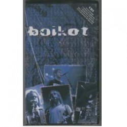 BOIKOT DE ESPALDAS AL MUNDO VHS+CDMX