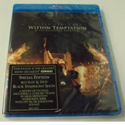 BLU RAY WITHIN TEMPTATION BLACK SYMPHONY & THE METROPOLE ORCHESTA