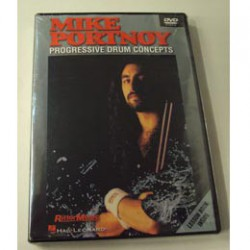 DVD MIKE PORTNOY PROGRESSIVE DRUM CONCEPTS