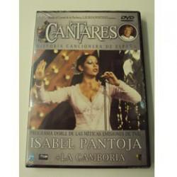 ISABEL PANTOJA+LA CAMBORRIA CANTARES  DVD