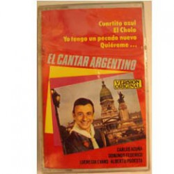 CASSETTE EL CANTOR ARGENTINO EL CANTOR ARGENTINO