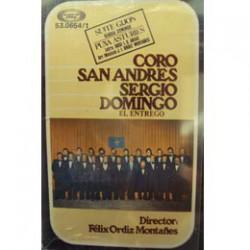 CASSETTE CORO SAN ANDRES SERGIO DOMINGO-EL ENTREGO-