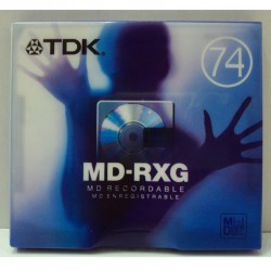 TDK MD-RXG 74 M. PACK 5 UDS