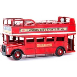 AUTOUS -LONDON CITY SIGHTSEEING- METALICO, 31X13X17CM  VINTAGE