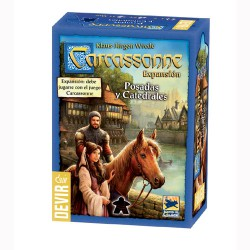 CARCASSONNE: POSADAS Y CATEDRALES-EXPANSION-CAJA