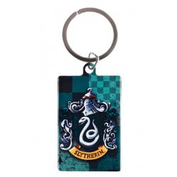 Harry Potter Llavero metálico Slytherin 6 cm