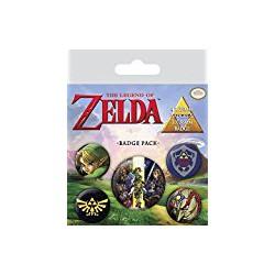 Pack de Chapas La Leyenda de Zelda - The Legend of Zelda