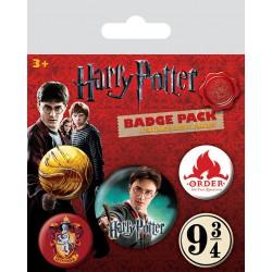 Pack de Chapas Harry Potter- Badge pack