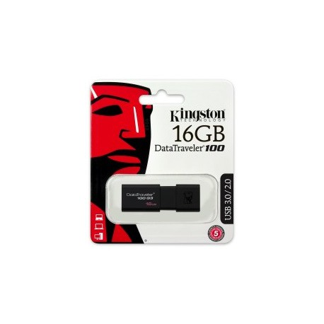 PENDRIVE USB 16 GB KINGSTON DataTraveler 100