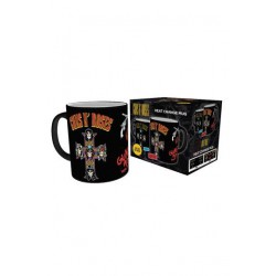 Guns n' Roses Taza sensitiva al calor Cross