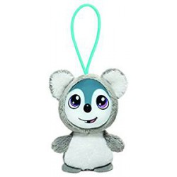 Grinnie Koala, llavero, color gris, 8cm