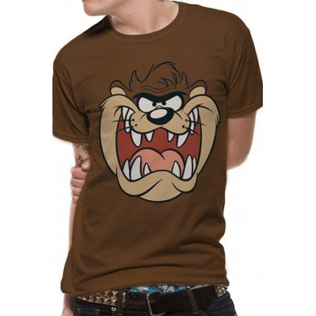 Looney Tunes Camiseta Taz Face