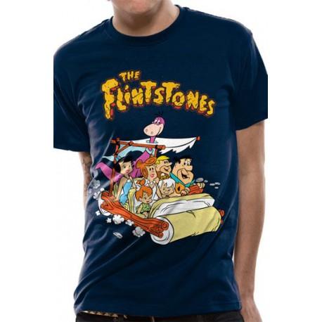 Los Picapiedra Camiseta Car