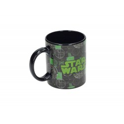 DEATH STAR TAZA NEGRA CERAMICA STAR WARS ROGUE ONE