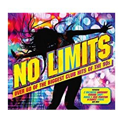 CD -VARIOS ARTISTAS- NO LIMITS-  3CD