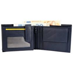 Billetera hombre cuero Formato 12 x 10 cm