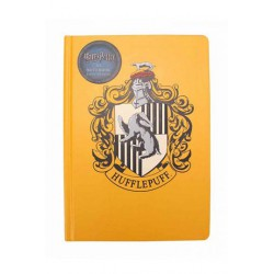 Harry Potter Libreta A5 Hufflepuff