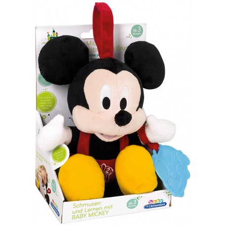 Peluche MICKEY MOUSE BABY -CON FRASES EN INGLES-
