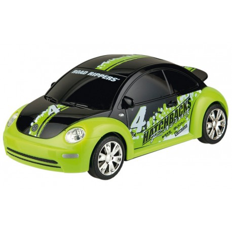 VW  New Beetle a escala (19cm aprox) Happy People