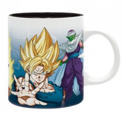 DRAGON BALL - Taza - 320 ml - DBZ / Saiyans y Piccolo