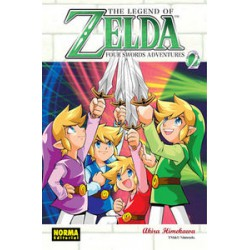 LEGEND OF ZELDA 09 FOUR SWORDS ADVENTURES VOL 2