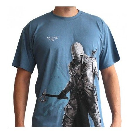 ASSASSIN'S CREED - ASC III Connor- camiseta Talla L