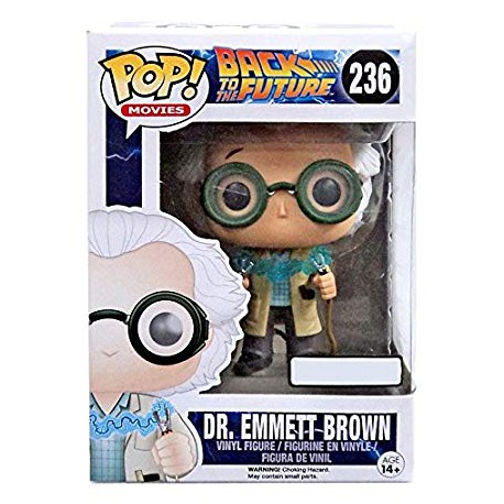 Funko Pop Back To The Future Dr. Emmet Brown