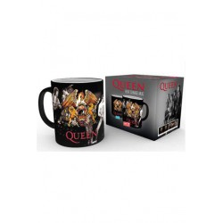 Queen Taza sensitiva al calor Crest