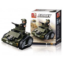 Sluban Bloques de Construccion Army Armored Car