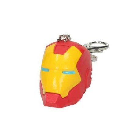 LLavero - Iron Man casco - Marvel