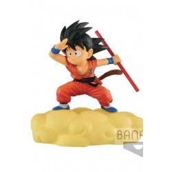 Dragonball Figura Kintoun Son Goku on Flying Nimbus Normal Color Ver. 13 cm