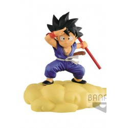 Dragonball Figura Kintoun Son Goku on Flying Nimbus Special Color Ver. 13 cm