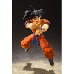 Dragonball Z Figura S.H. Figuarts Son Goku (A Saiyan Raised On Earth) 14 cm