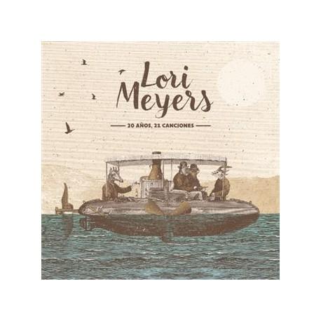 CD LORI MEYERS -20 AÑOS, 21 CANCIONES-MAQUETAS Y RAREZAS