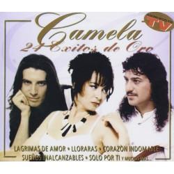 CD CAMELA -24 EXITOS DE ORO-