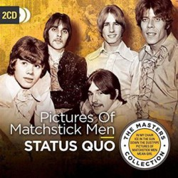 CD STATUS QUO -Pictures of Matchstick Men - 2 CD -