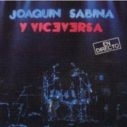 CD JOAQUIN SABINA Y VICEVERSA EN DIRECTO 2CD