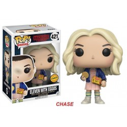 Figura Funko Pop Stranger Things - Eleven with Eggos-CHASE