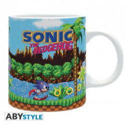 SONIC THE HEDHEHOG TAZA CERAMICA 320 ML RETRO