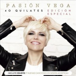 CD PASION VEGA -40 QUILATES CD+DVD EDIC. ESPECIAL