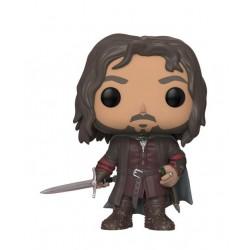El Señor de los Anillos Figura POP! Movies Vinyl Aragorn 9 cm