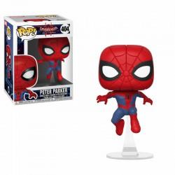 Spider-Man Animated POP! Marvel Vinyl Cabezón Peter Parker 9 cm