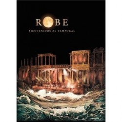CD -BOX- ROBE -BIENVENIDOS AL TEMPORAL-  2CD
