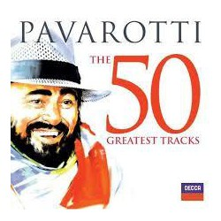 CD PAVAROTTI -THE 50 GREATEST TRACKS- 2CD