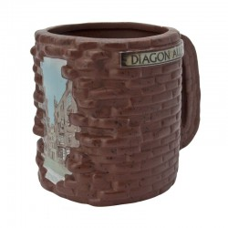 HARRY POTTER - Taza 3D - Callejón Diagon