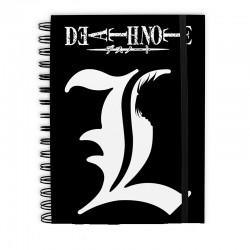"""NOTA DE MUERTE - Cuaderno """"L"""" X4"""