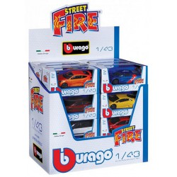 Burago Die Cast Cars 1:43 10 assorted Street Fire