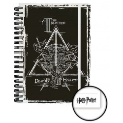 Harry Potter Libreta A5 Deathly Hallowes Caja