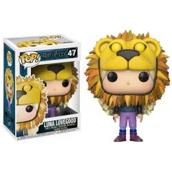 Harry Potter POP! Movies Vinyl Figura Luna Lovegood with Lion Head 9 cm
